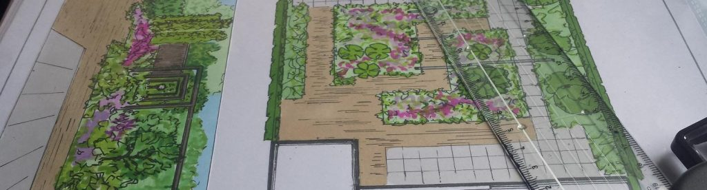 tuin laten ontwerpen. Het begint op de tekentafel